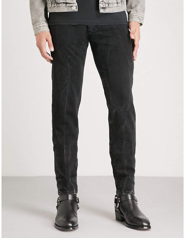 Givenchy Faded slim-fit tapered jeans