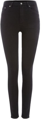 Cheap Monday High Rise Black Skinny Jeans