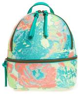 BP Abstract Floral Mini Backpack
