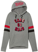 PINK University Of Louisville Crossover Pullover Hoodie