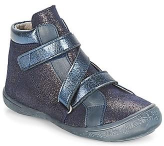 Citrouille et Compagnie HISSOU girls's Mid Boots in Blue