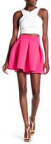 Soprano Scuba Mini Skirt