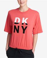 DKNY Dkyn Sport Logo Cropped Sweatshirt
