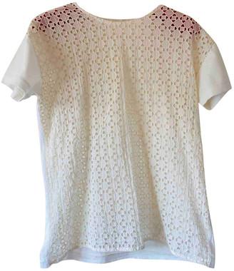 Cos Ecru Cotton Top for Women