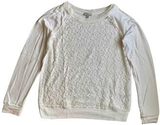 Clu White Cotton Knitwear for Women