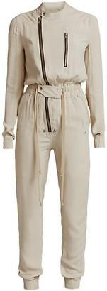 Rick Owens Gary Zippered Flight Suit