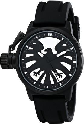 Marvel Men's W001757 The Avengers Captain America Analog-Quartz Black Watch