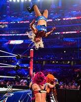 WWE Charlotte 8x10 Photo (WrestleMania 2016 action)