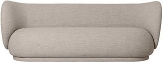 ferm LIVING Rico Boucle Three Seater Sofa - Sand