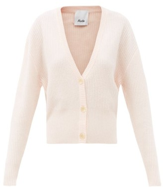 Allude Dropped-sleeve Cashmere Cardigan - Light Pink