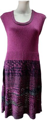 Chanel Purple Cotton Dresses