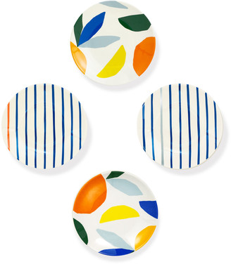 Kate Spade Citrus Twist Tidbit Plates, Set Of 4