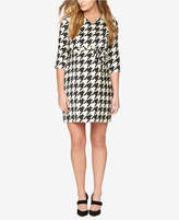 A Pea in the Pod Maternity Houndstooth A-Line Dress