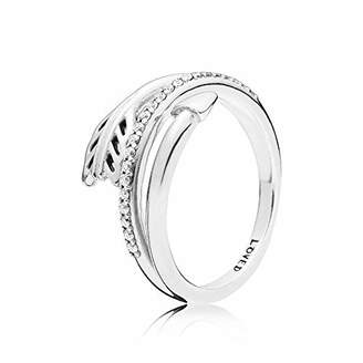 Pandora Women Silver Eternity Ring 197830CZ-50