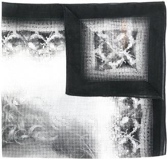 John Galliano Pre-Owned 1990s John Galliano print scarf