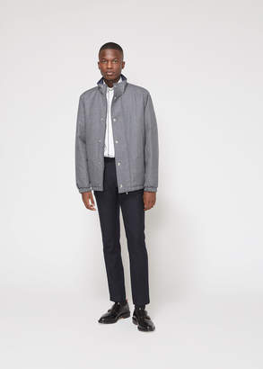 Thom Browne Reversible Funnel Collar Down Jacket