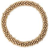 Meredith Frederick Irina 14k Gold Mirrored Bead Bracelet