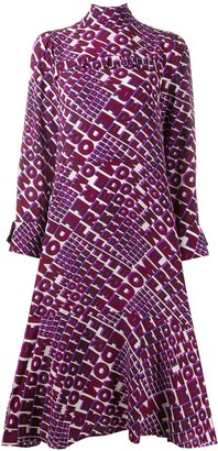 Schumacher Dorothee Freedom printed shift dress