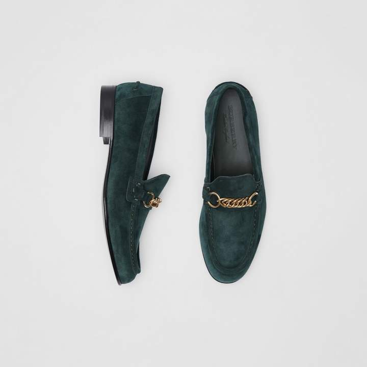 Burberry The Suede Link Loafer