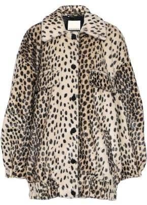 By Malene Birger Tidara Leopard-print Faux Fur Coat