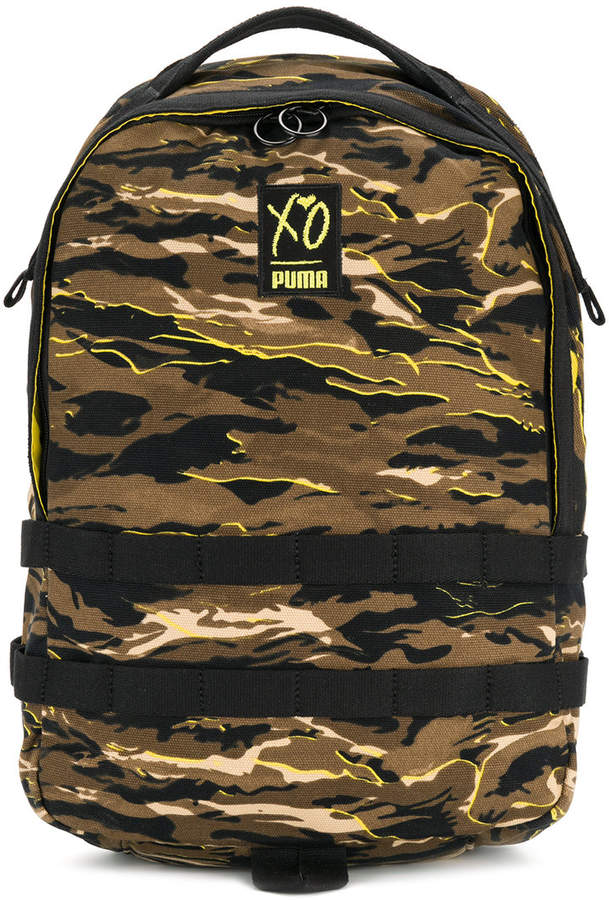 Puma X XO camouflage backpack
