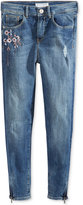 GUESS Embroidered Skinny Jeans, Big Girls (7-16)