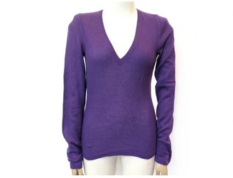 Loro Piana Purple Cashmere Knitwear