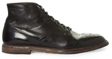Dolce & Gabbana Marsella Leather Brogue Boots