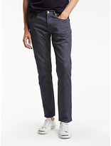 Ps By Paul Smith Tapered Fit Crosshatch Jeans, Rinse