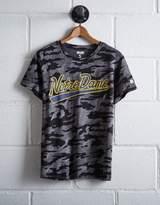 Tailgate Women's Camo Notre DameT-Shirt