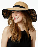 INC International Concepts Lace Petal Floppy Hat, Created for Macy's