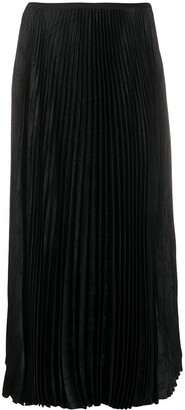 FEDERICA TOSI Pleated High-Waisted Skirt