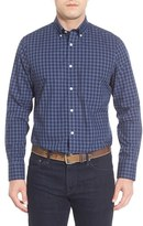 Nordstrom Classic Fit Smartcare TM Gingham Sport Shirt (Big)