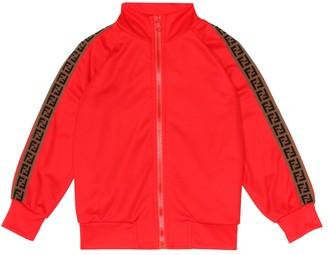 Fendi Kids Jersey track jacket