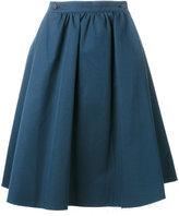 Societe Anonyme high waist pleated skirt - women - Cotton - 40