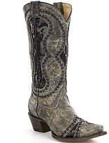 Corral Boots Diamond Inlay Boots
