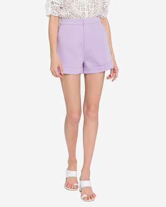 Express Endless Rose High Waisted Tailored Shorts