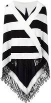 Antonia Zander striped cape