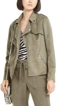 INC International Concepts Inc Moleskin Moto Jacket, Created for Macy's