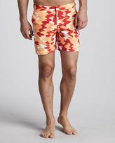 Orlebar Brown Bulldog Camo Swim Shorts, Belize/Cuban