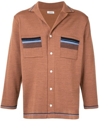 Coohem Notched Collar Cardigan