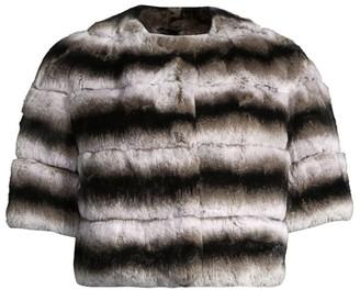 Glamour Puss Glam Rabbit Fur Bolero