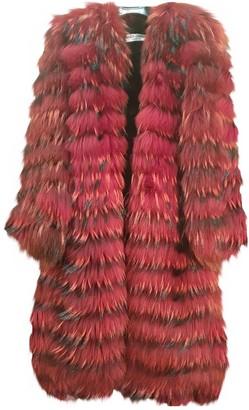Dolce & Gabbana Red Fox Coat for Women Vintage
