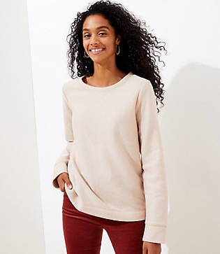LOFT Shimmer Sweatshirt