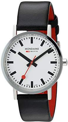 Mondaine Classic Gents - Polished - 36 mm - dial - A660.30314.11SBB