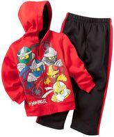 Lego ninjago fleece hoodie and pants set - boys 4-7