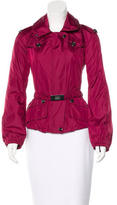 Burberry Zip-Front Lightweight Jacket