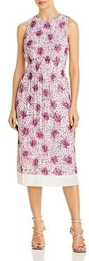 HUGO BOSS Edroba Printed Midi Dress