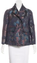 Tory Burch Metallic Brocade Jacket