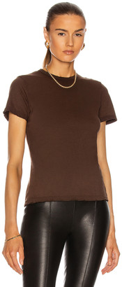 Cotton Citizen Standard Tee in Coffee Mix | FWRD